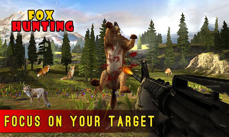 Sniper Fox Hunter 3D Jungle Adventures Game 2017
