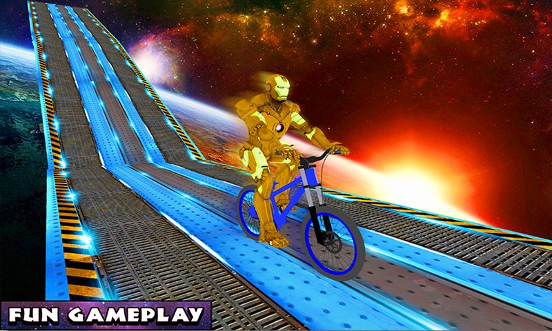 Superheroes BMX Bicycle: Impossible Space Tracks