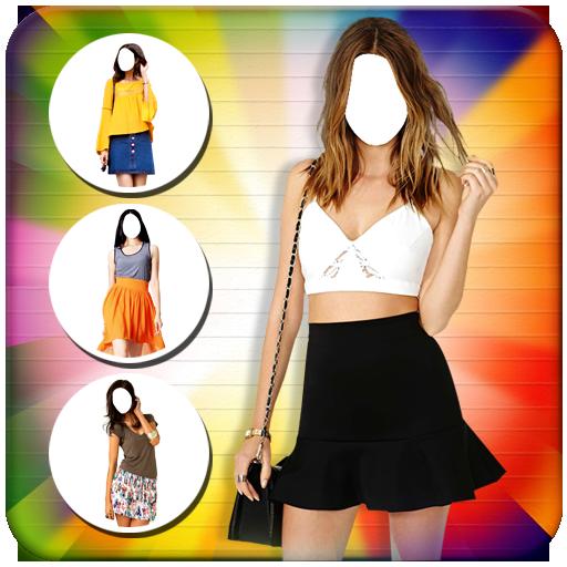 Women Short Dress Photo Suits