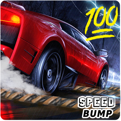 100 Speed Bumps Challenge: Speed Breaker Car Drive