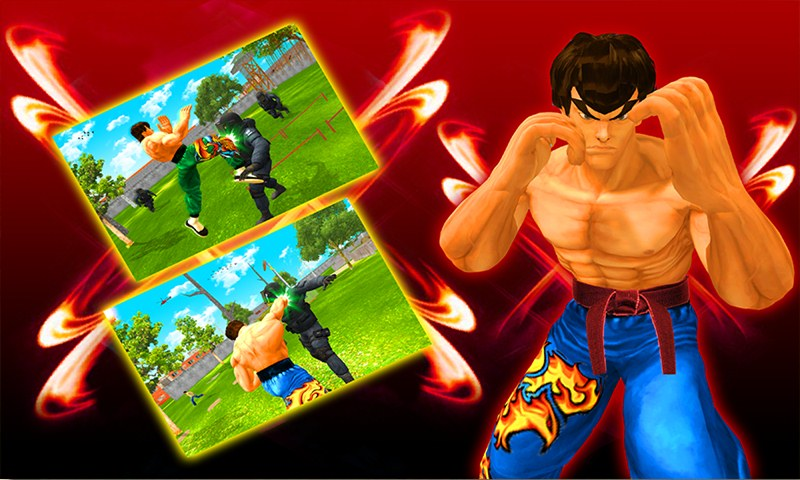 Angry Lee Fighter Hero vs City Gangsters