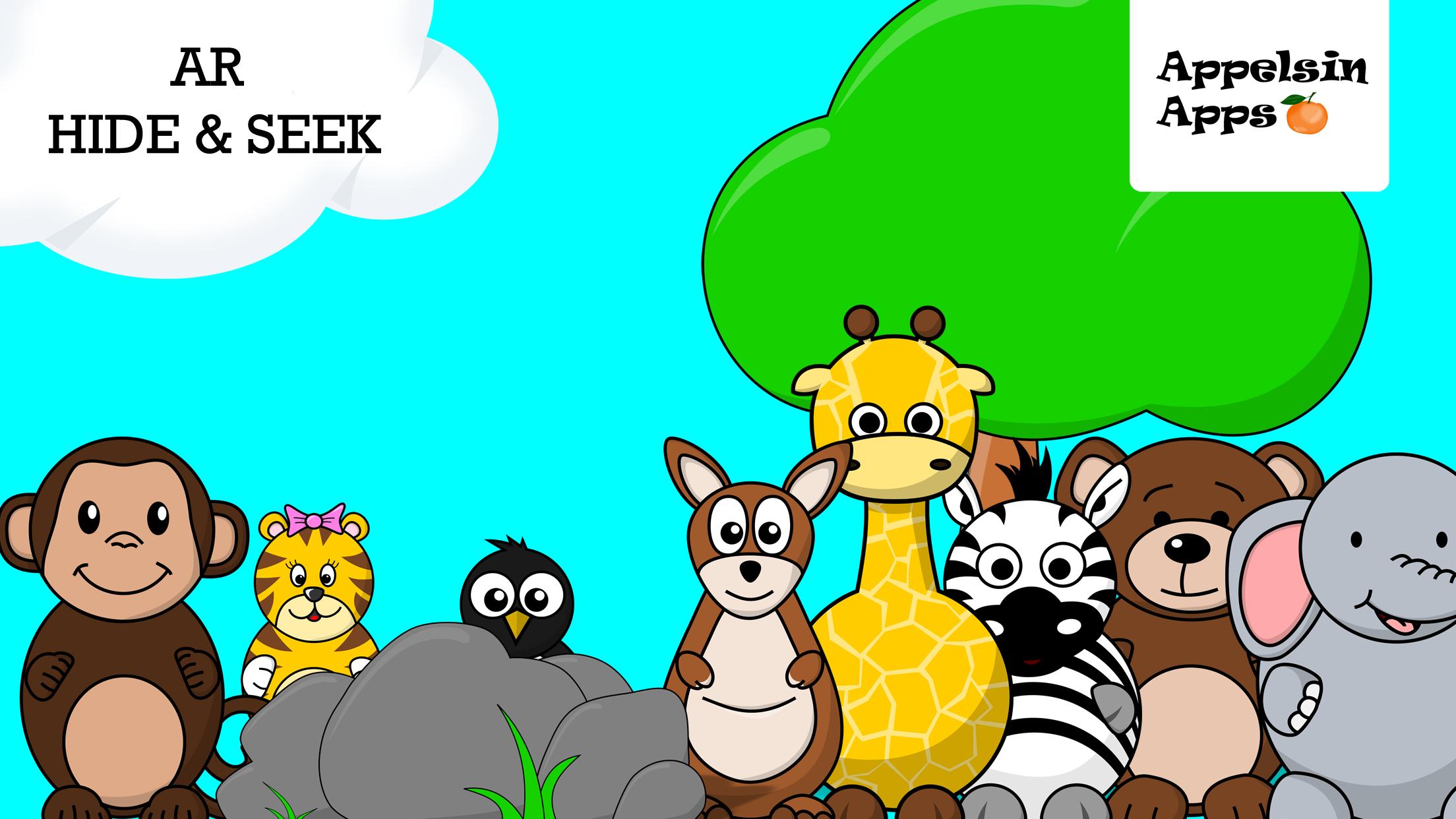 AR Hide & Seek Games for Kids