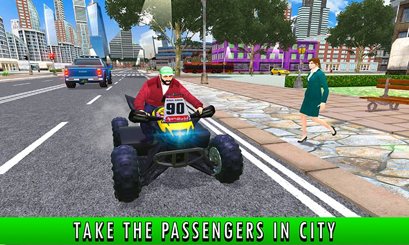 ATV Taxi Bikes Simulator