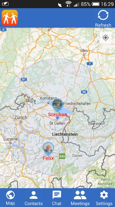 BizMeet - Share Your GPS Location (Beta)