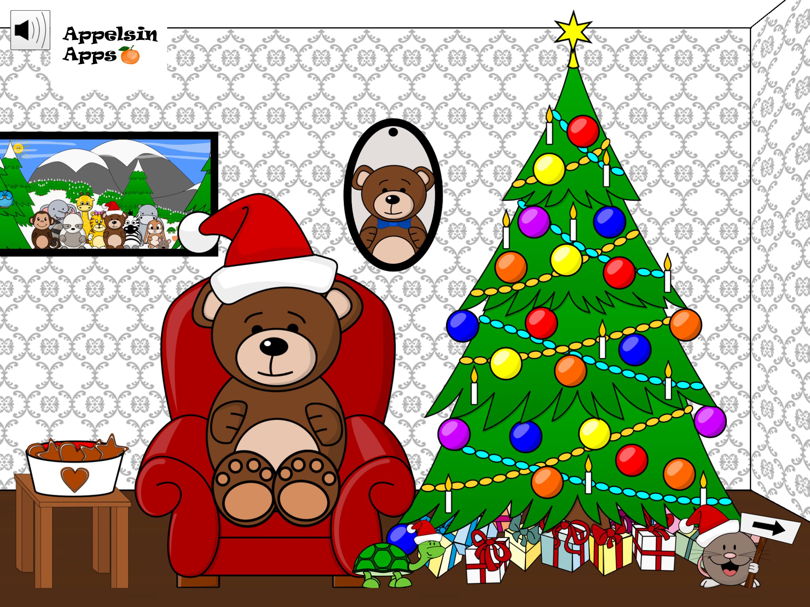 Bruno Bear Christmas Games