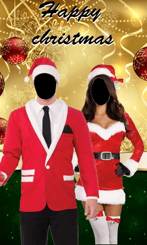 Christmas Couple Photo Suit