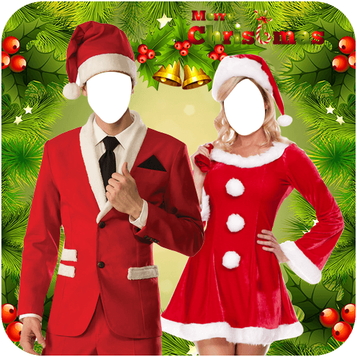 Christmas Couple Photo Suit
