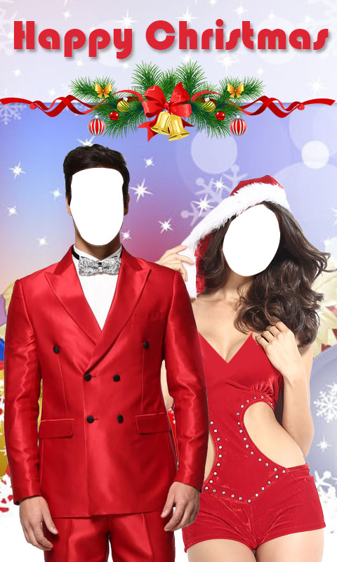 Christmas Couple Photo Suit New