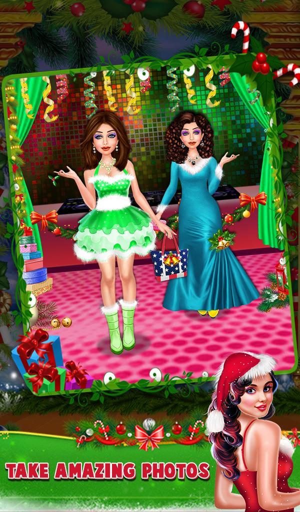 Christmas Fashion Salon Girl Makeover