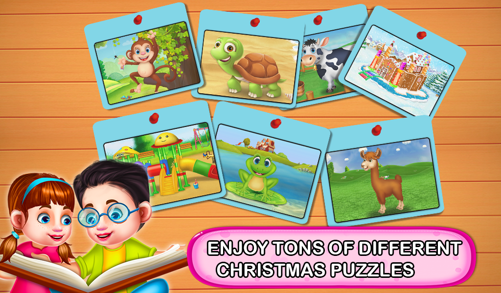 Christmas Jigsaw Puzzle for Toddler