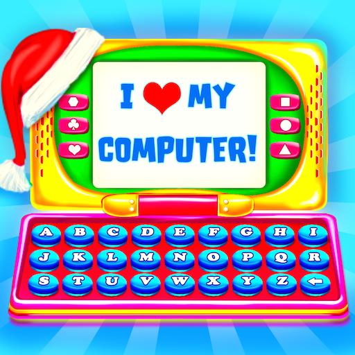 Christmas Kids Computer