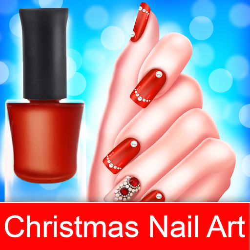 Christmas Nail Fashion Salon Makeover