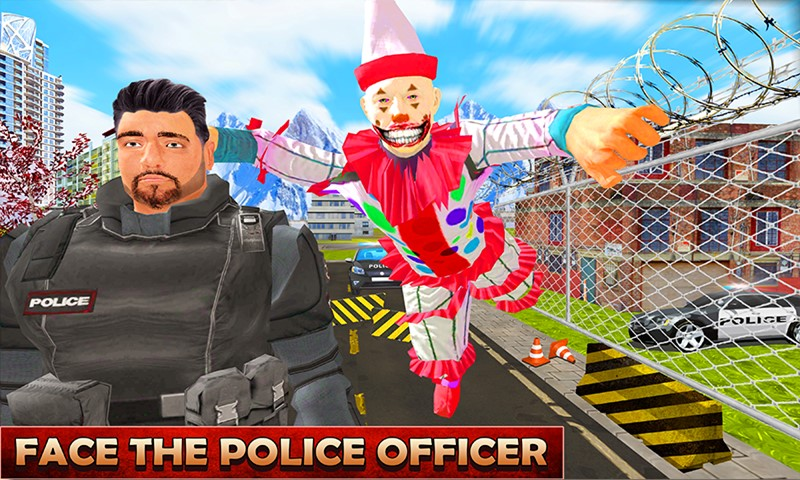 Clown Hero Jail Prison Escape Survival