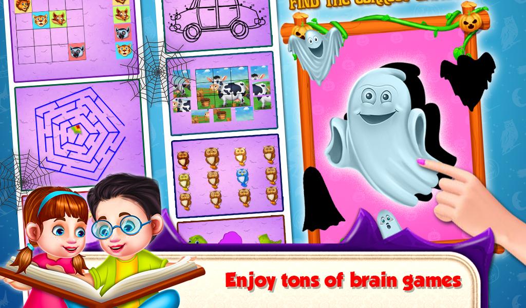 Educational Kids Computer Halloween