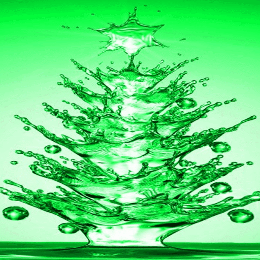 Green Christmas Tree LWP
