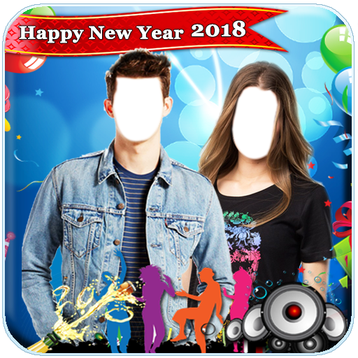 New Year Couple Photo Suit 2018