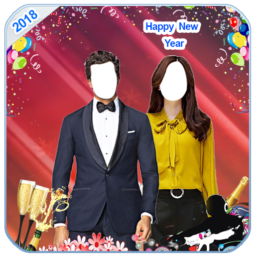 New Year Couple Suit