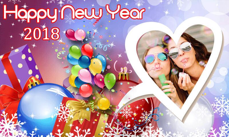 New Year Frames 2018