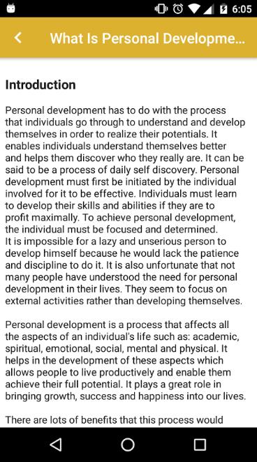 Personality & Leadership Skills Development Tips