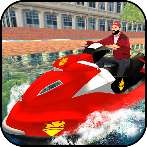 Pizza Delivery Water Boat Simulator