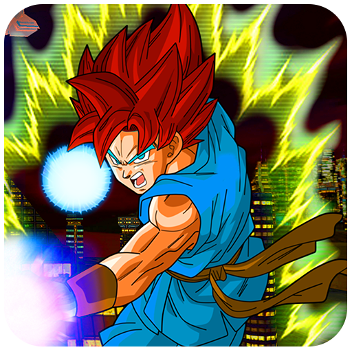 Saiyan Goku Hero City Survival