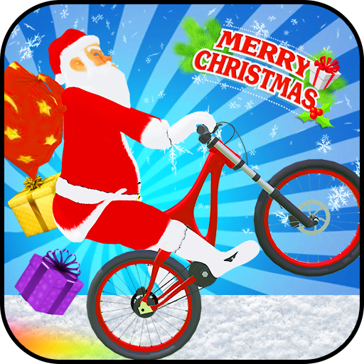 Santa Bicycle Rider:Xmas Special
