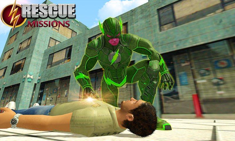 Super Light Hero Crime Battle
