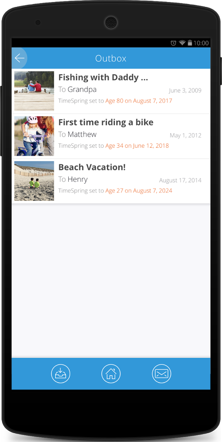 TimeSpring: Share Tomorrow
