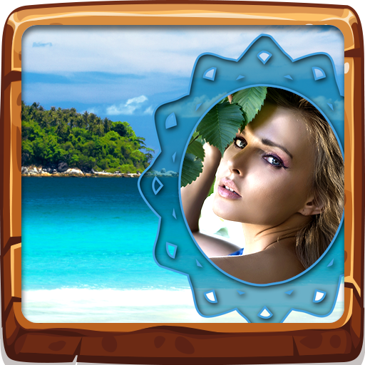 Tropical Island Photo Frames