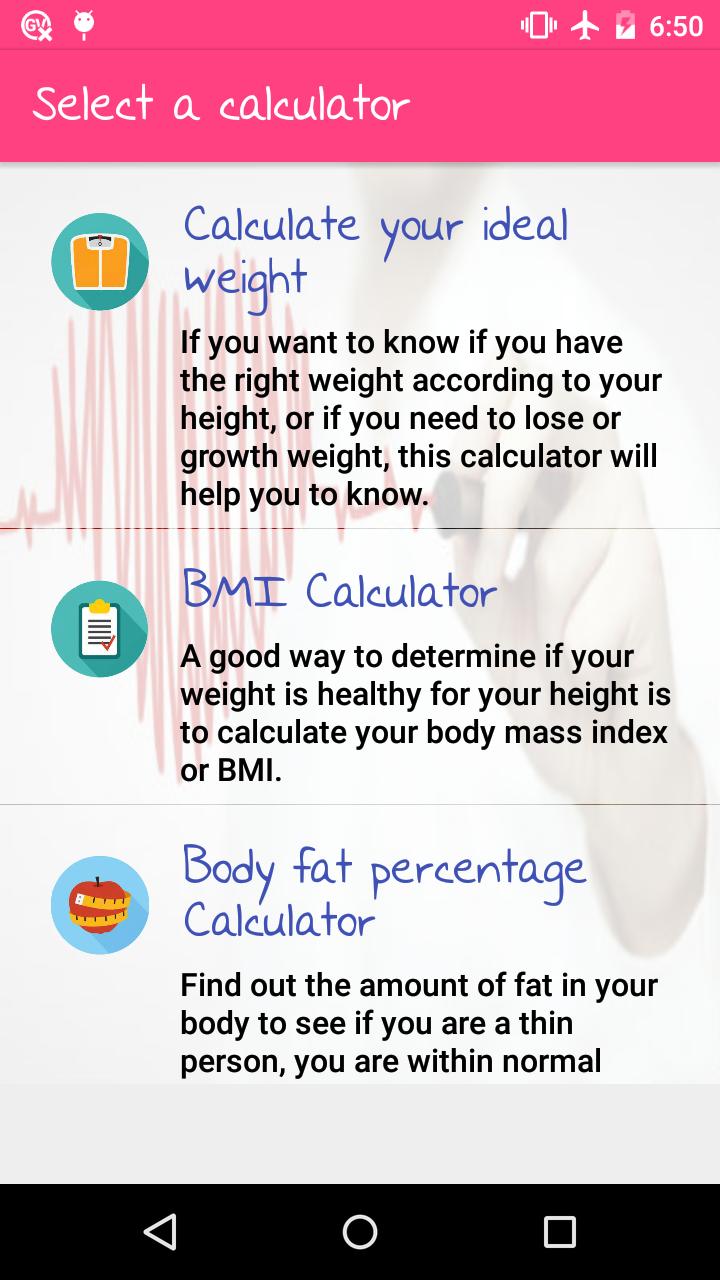 WomApp Diets Health Tools Love Tests Zodiac info