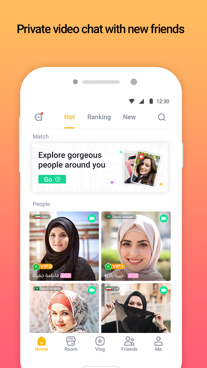 YouStar video Chat & vlogs