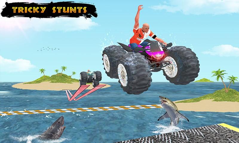 99% Impossible Monster ATV Bikes Tracks