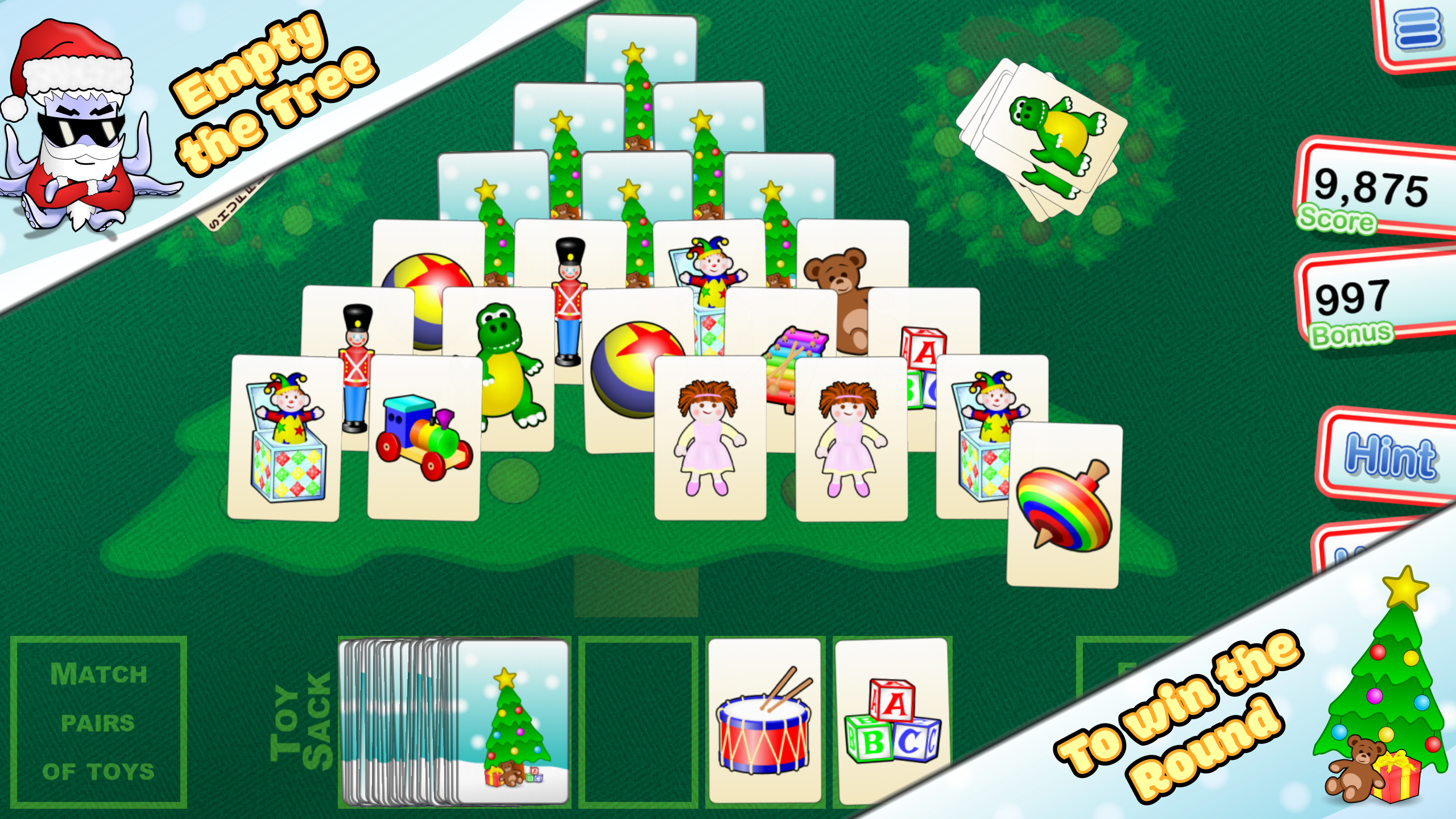 Christmas Tree Solitaire