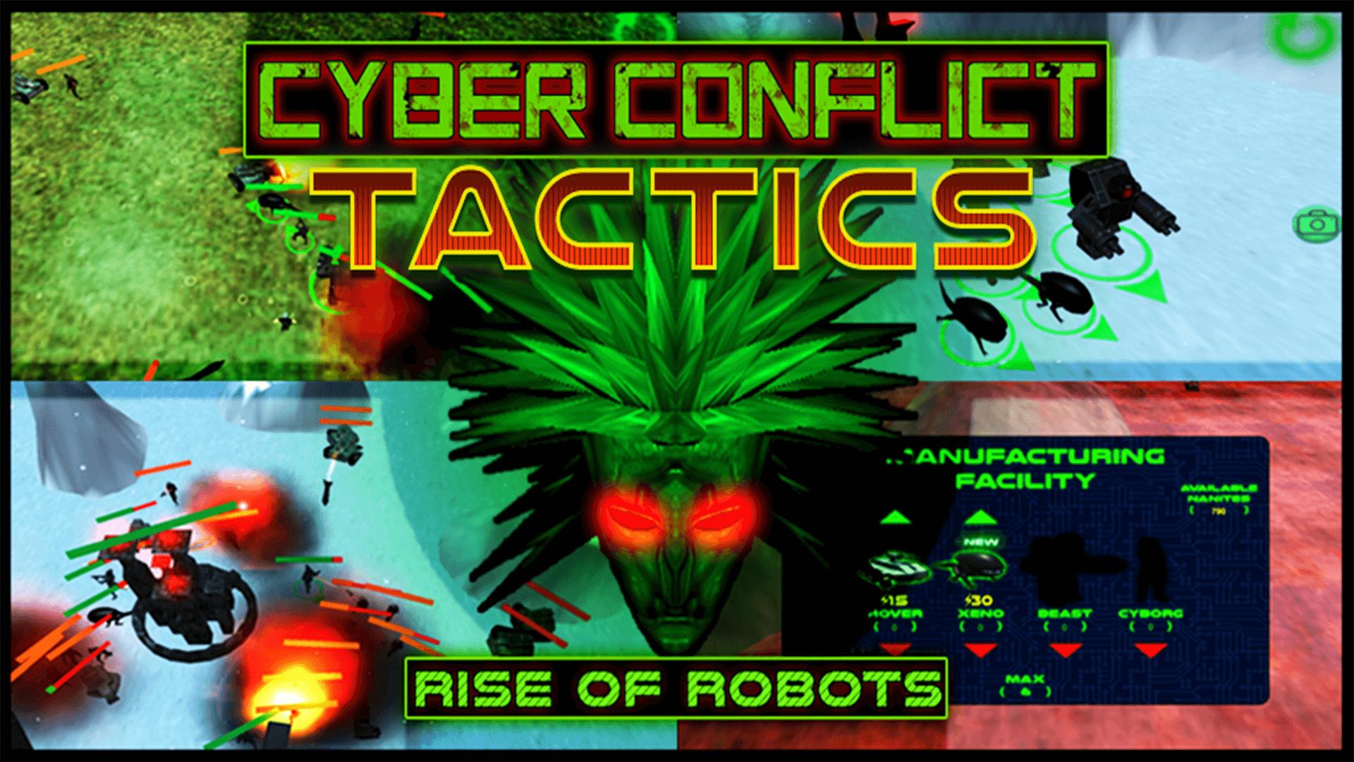 Cyber Conflict Tactics: Rise of Robots