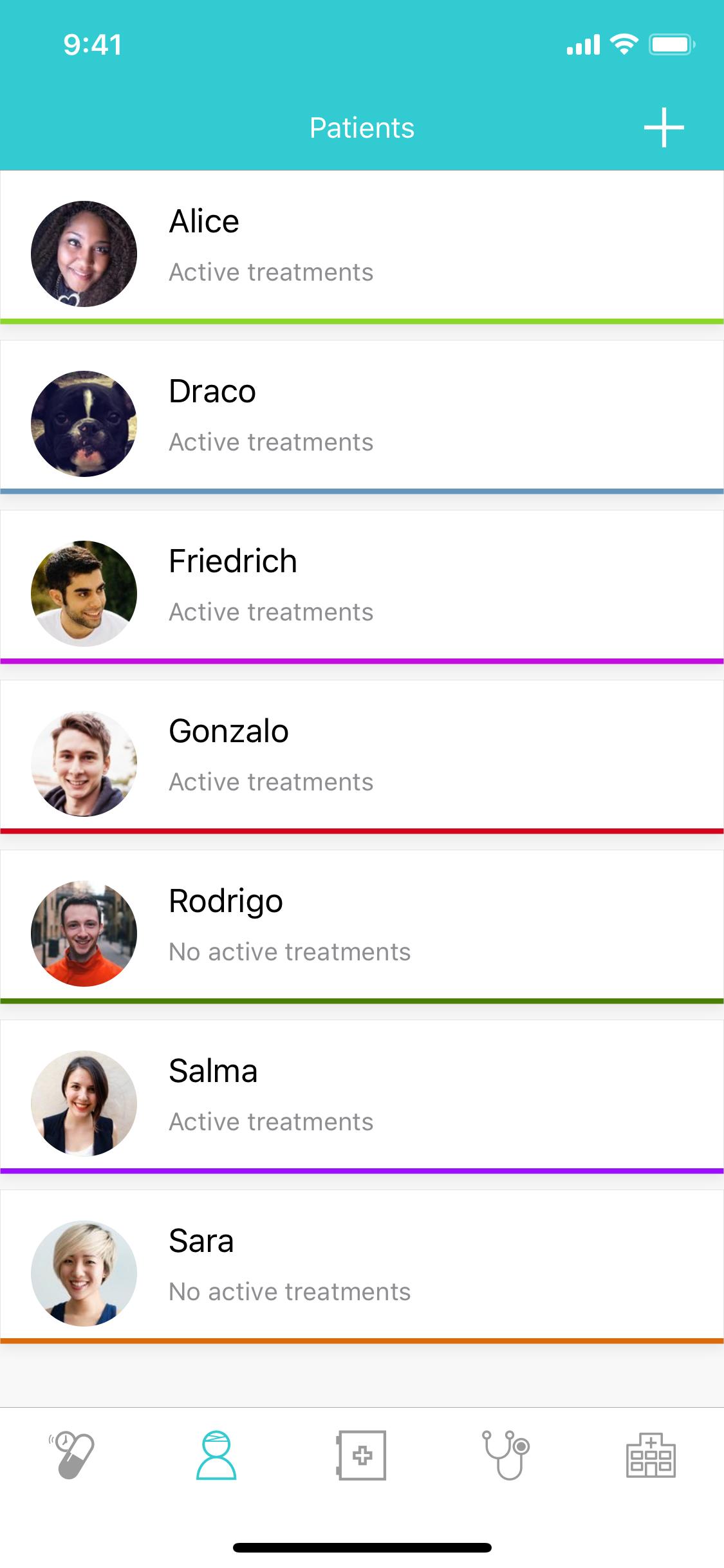 GetWell: Treatment tracker