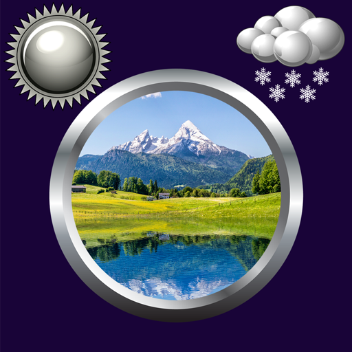 Nature Clock & Weather Widget