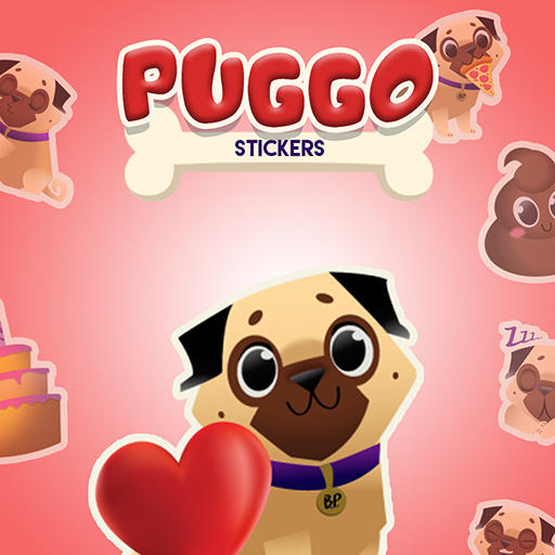 Puggo Stickers - Animated