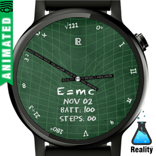 Relativity Theory - Watch Face