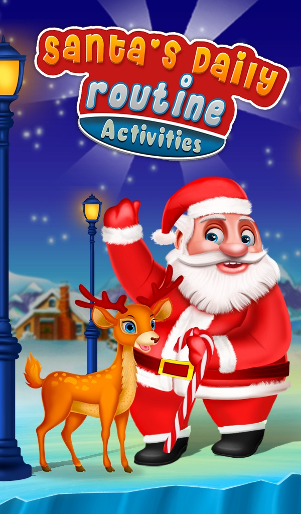 Santa's Daily Routine Activities