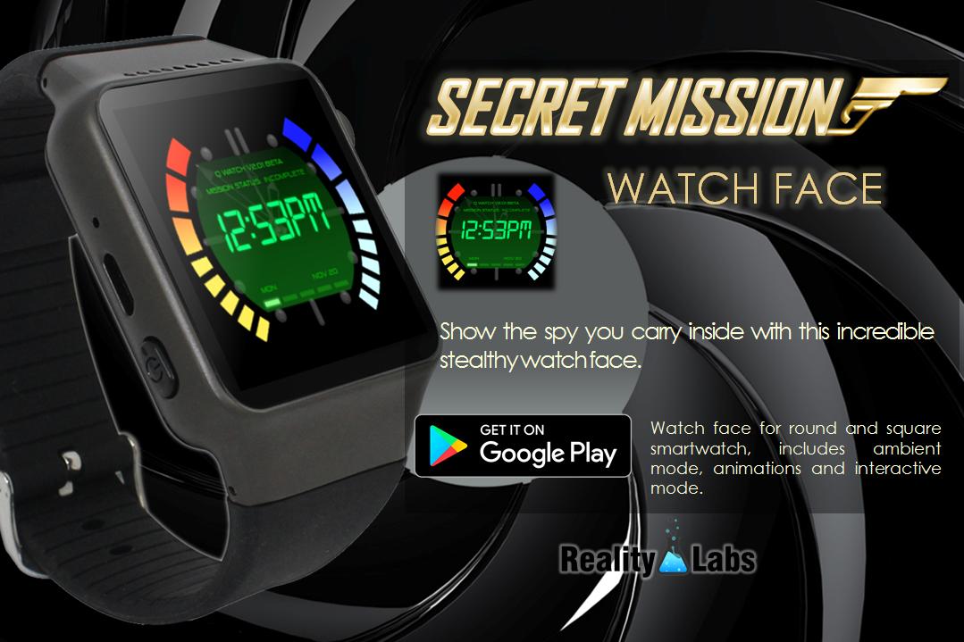 Secret Mission - Watch Face