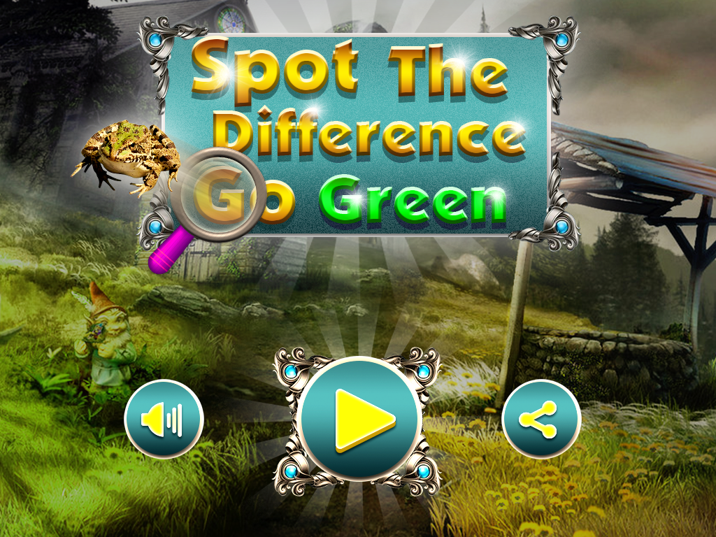 Spot The Difference : Go Green