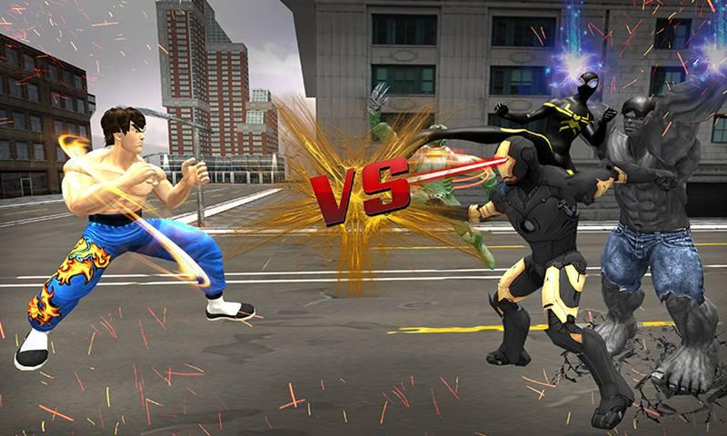 Ultimate KungFu Hero vs Super villains