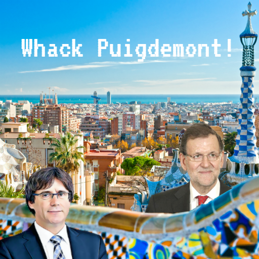 Whack Puigdemont