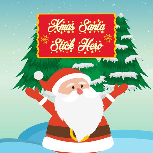 Xmas Santa : Stick Hero