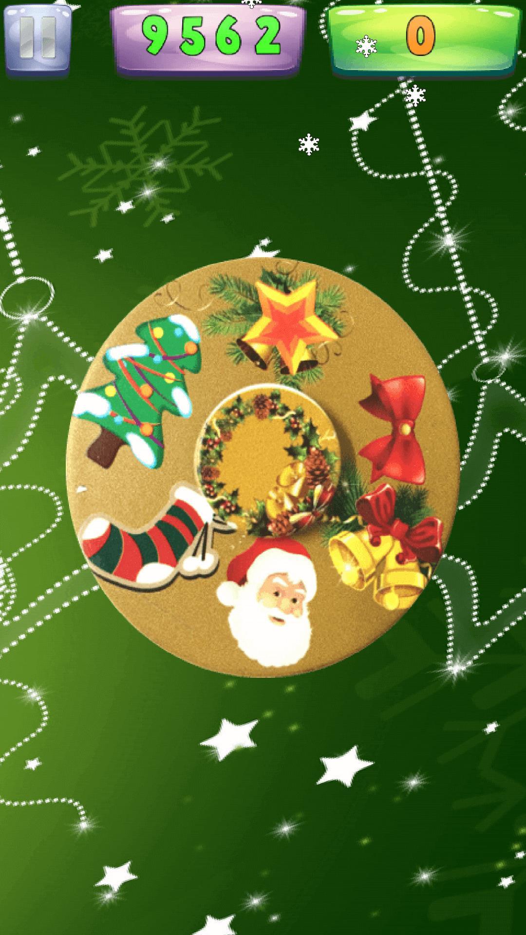 Xmas Spinner - Fidget Spinner - New Year Game