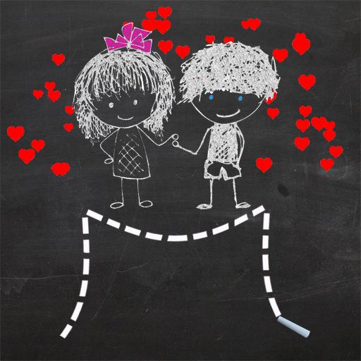 Karatahta Aşıkları - Çizim