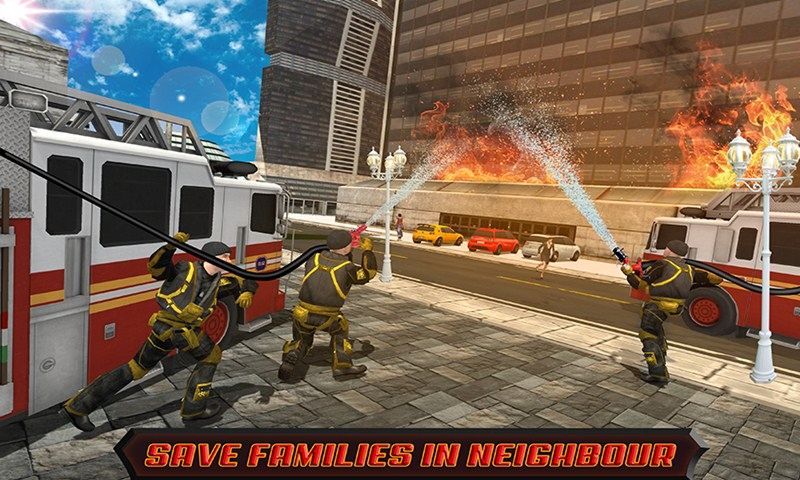 Virtual Firefighter Hero City Rescuer