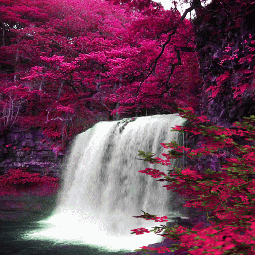 Waterfall View Beauty LWP