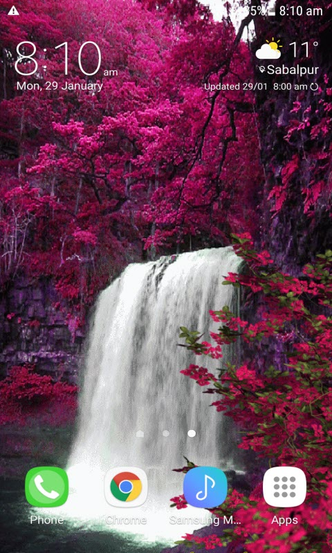 Waterfall View Beauty LWP