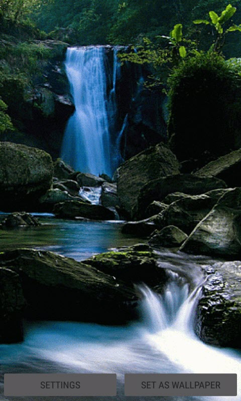 Black Rock Waterfall LWP